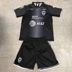 Rayados de Monterrey Away Black Set 17-18 Sz small